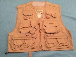 New Cabela's Tactical khaki Hunting,fishing,safari outdoor  vest Size L/XL