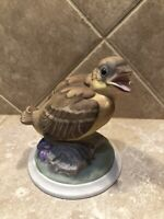 Boehm Porcelain Baby Goldfinch Bird Figurine #448