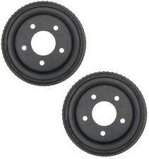 """Pair Set of 2 Rear Brake Drums ACDelco Pro For Chevy GMC C1500 88-99 10"""" Brakes"""