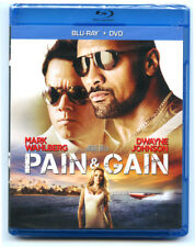 Pain  Gain (Blu-ray/DVD, 2013, 2-Disc Set, Includes Digital Copy) NEW SEALED
