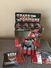 1985 Hasbro Vintage G1 Transformers Perceptor Takara with Box 100% complete