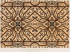 Antique (Pre - 1900) Lithograph Wood Art Prints
