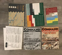 XTR Command Magazine Issue 37 Game Mukden Russo Japanese War UNPUNCHED