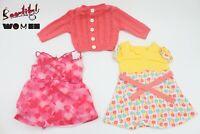 American Girl set 3pcs dress skirt  cardigan sweater clothes kid 18'' doll