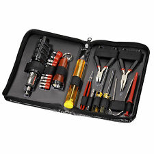 PC Electronic Tool Kit inc Screwdriver Set, Cutters, Pliers, Tweezers & more