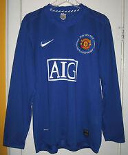 Cristiano Ronaldo #7 Manchester United  Long Sleeve Jersey Nike Fit size XL