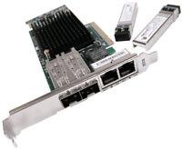 IBM PCIe 4-Port 10Gb FCoE & 1GbE LR & RJ45 00E8144 New Pull
