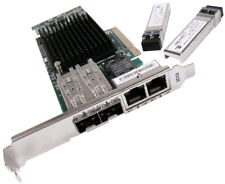 IBM PCIe 4-Port 10Gb FCoE & 1GbE LR & RJ45 00E8144 New Pull