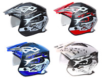 Wulfsport Youth Kids Vista Motocross Bike Quad Trials Helmet With Visor