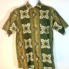 Vtg Moana Kai Men'S Hawaiian Aloha Shirt Tiki Surf Rockabilly Floral