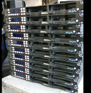 AJA Ki Pro Racks and drives Lot sale