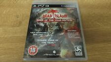 DEAD ISLAND GAME OF THE YEAR - PLAYSTATION 3 (PS3) - FREE UK POSTAGE
