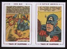 2015 Marvel Avengers Silver Age Dual Archive Cuts TS77 Tales Of Suspense /40