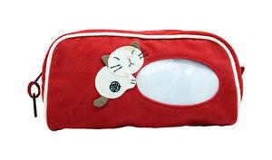 Hikosen Cara - Handmade Pencil Case Pen Pocket Cosmetic Makeup Zipper Bag Pouch