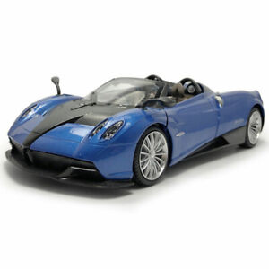 1:24 Scale Pagani Huayra Roadster Model Car Diecast Vehicle Collection Gift Blue