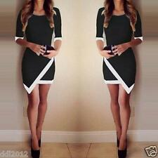 Fashion Women Summer Bandage Bodycon Evening Party Cocktail Short Mini Dress US