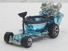 Hot seat en plata azul con rayas de decoración, sin OVP, Hot Wheels, 1:64
