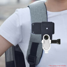 IG_ 360-Degree Backpack Bag Clip Clamp with Mount Adapter for Insta360 Go Welcom