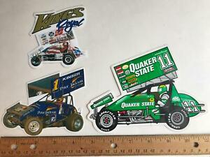 Quaker State Peter Jackson Kings Royal World of Outlaws Sprint Car racing decals