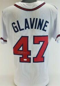 Tom Glavine Signed Atlanta Braves Jersey (JSA COA) 1995 World Series MVP / HOF