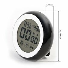 Digital Kitchen Timer Magnetic Thermometer Hygrometer Alarm  W/ Stand F Cooking
