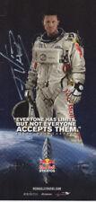 Autogramm - Felix Baumgartner - Extremsportler - Stratosphärensprung