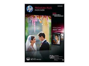 HP Premium Plus Glossy Photo Paper 50 sheets 10 x 15 cm CR695A