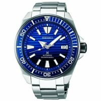 SEIKO PROSPEX SBDY019 Automatic Blue Dial Diver Scuba 200M Save the Ocean Men's