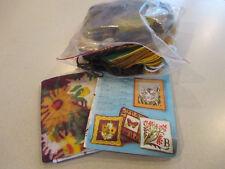 "Vintage Artcraft Concepts Daisy Bargello Needlepoint Pillow Kit - 14"" x 14"""