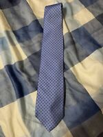 Men's Brooks Brothers Makers FBlue Silk Neck Tie made in USA NEW Retail $79.50