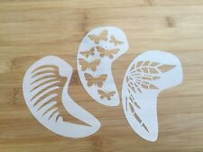 Face paint stencil reusable washable wings and things faces and cheek
