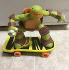 Teenage Mutant Ninja Turtle Michael On Skateboard  (No Remote)