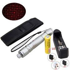 10Miles 2in1 Lápiz puntero láser rojo 1mw 532nm Star Cap Outdoor Light Laser