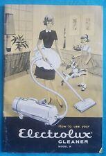 "1960 Electrolux Vacuum Cleaner Model ""R"" Adv. Brochure - Retro Illustrations"