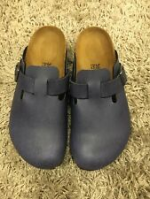 Birkenstock boston Pull up navy sabot unisex