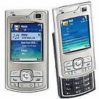 SILVER NOKIA N80 SLIDE MOBILE PHONE-UNLOCKED WITH NEW HOUSE CHARGAR AND WARRANTY