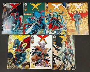 X 1994 STARTER SET #1 THRU 8,#10,18 VF/NM GHOST,PREDATOR LIKE BATMAN!!! 13 BOOKS