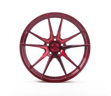 20x9/11 Rohana RF1 5x120mm +20/28 Red Wheels Fits Bmw 645 650 (2004-2010)