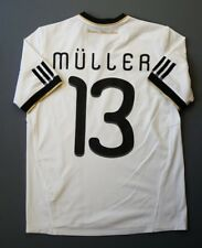 4.9/5 Germany #13 Muller 2010 2012 Football Home Jersey Shirt Adidas s. 13-14y.