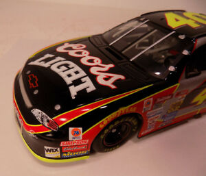 COORS LIGHT 1999 Chevrolet Monte Carlo #40 1/24th Sterling Marlin COA NOS MIB