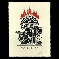 Obey Printing Press letterhead print sold out limited edition Shepard Fairey