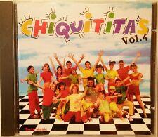 CHIQUITITAS  VOL.4  original rare CD - soundtrack