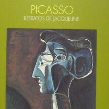 Retratos de Jacqueline  Picasso Pablo Fundacion March 1991 Soft cover Spanish