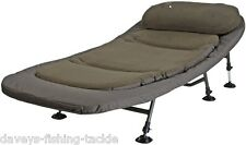 DAM MAD LEGION BED CHAIR X-WIDE DETACHABLE THICK FLEECE & PILLOW,ADJUSTABLE FEET
