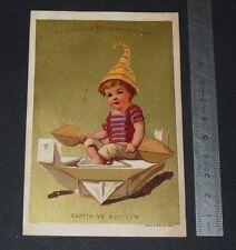 CHROMO 1880-1890 MAISON DE LA BELLE JARDINIERE PARIS CAPITAINE BOY TOM