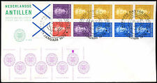 Netherlands Antilles 1979 Definitives Booklet Pane FDC First Day Cover #C26685