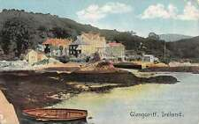 Glengariff Ireland Hisoric Bldg Waterfront Antique Postcard K44872