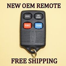 NEW OEM FACTORY LINCOLN MARK VIII TOWN CAR  KEYLESS ENTRY REMOTE FOB GQ43VT4T