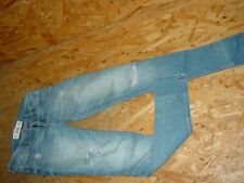 Vintage Stretchjeans/Jeans v.HOLLISTER Gr.W24/L29 blau used super skinny