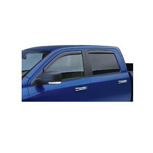 EGR 4pc Front & Rear Smoke Window Visor In Channel for 13-15 Escape # 573541WB